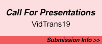 Call for Presentations for Vidtrans19