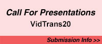 Call for Presentations for Vidtrans20