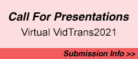 Call for Presentations for Vidtrans2021